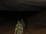 Dann gehts in den dunklen Teil der Paradise Cave...