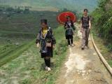 Shon und Ger guiden uns hervorragend ins Tal...