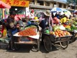Auch Lijiang hat natuerlich einen Markt...