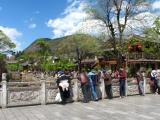 Lijiang bei bestem Wetter und einigen ;-) chinesischen Touristen