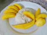 Unsere Kochergebnisse lassen sich doch sehen! Mango Sticky Rice…