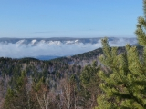 Blick von der Sternwarte Richtung Baikal