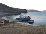 Bye Bye Olchon, wieder am Faehrhafen