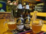 Yummie, yummie! Shangrila-Bier. Ins leben gerufen von einem Schweizer.