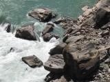 Und zum Schluss der Yangtze-Fluss zum Greifen nah