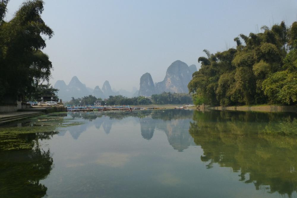 Raus aus Yangshuo..._P1010940