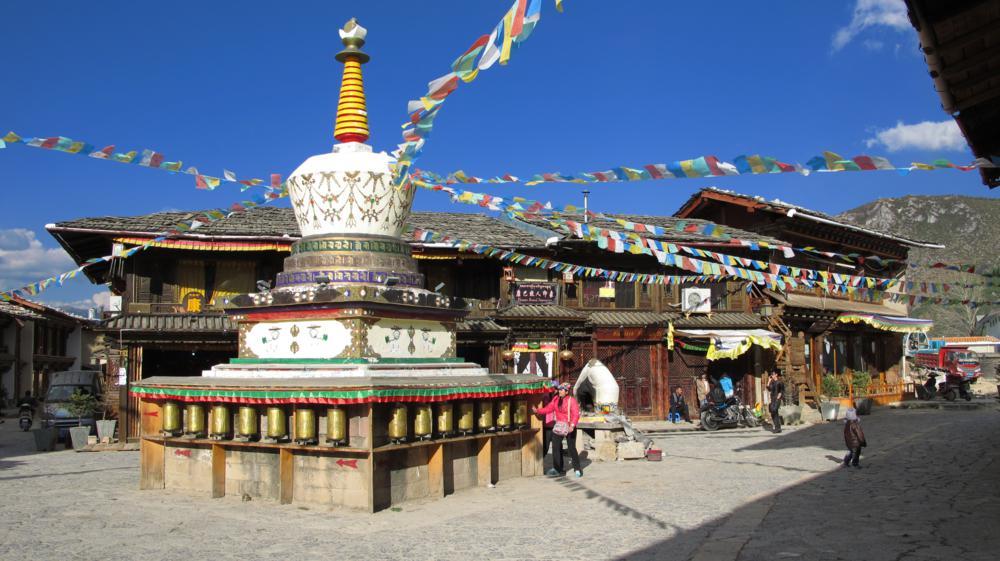eine Stupa mitten in der Altstadt..._IMG_1011
