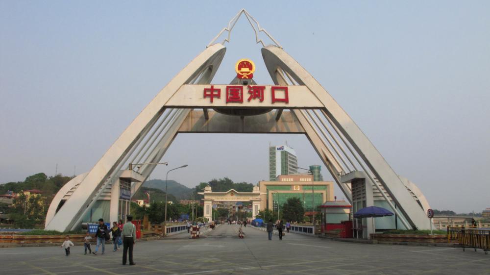 noch auf Chinas Boden vor der Grenzbrücke_IMG_1532