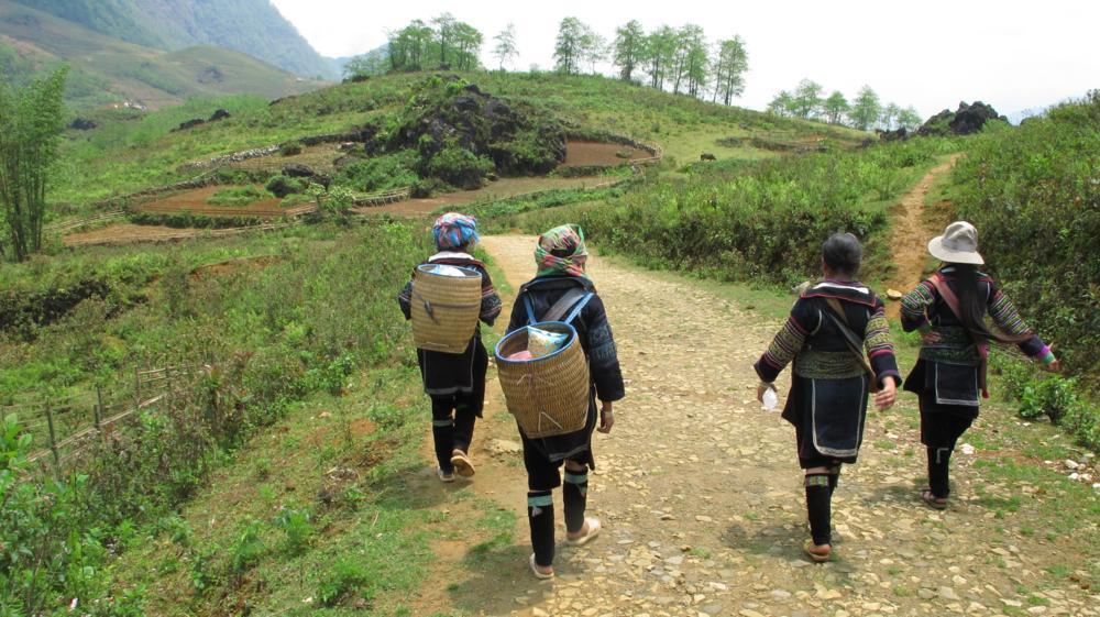 Auf dem Weg gesellen sich noch zwei weitere Ladies zu uns_IMG_1649