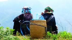 Bei den Black-Hmong-Women von Sapa