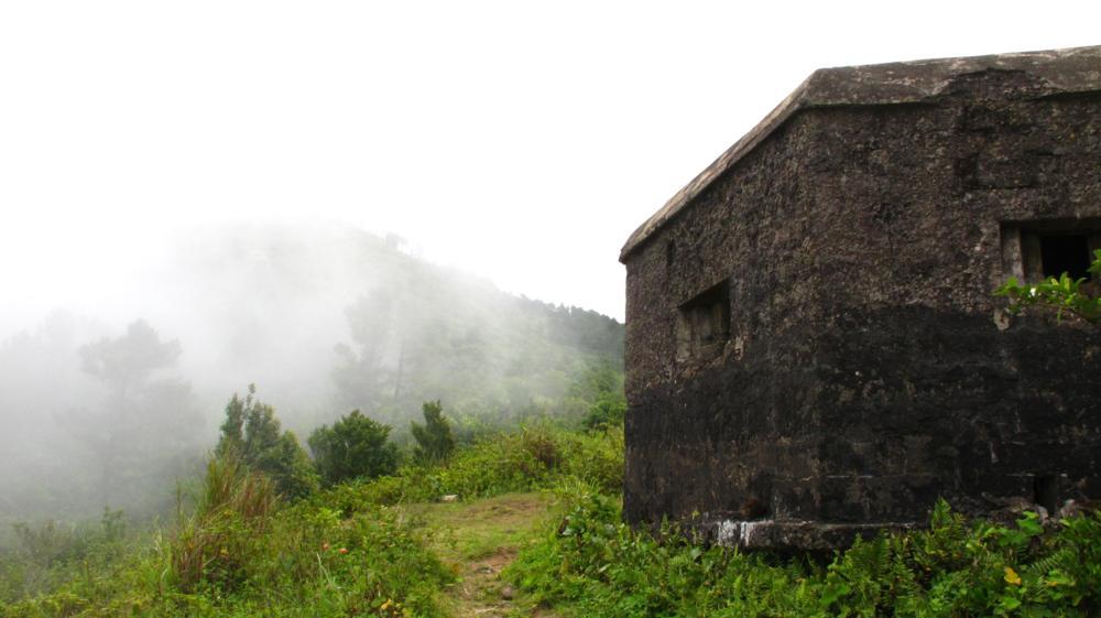 Die namengebenden Wolken beginnen die Bunkeranlagen zu verhüllen_IMG_2605