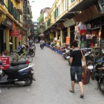 Viel Lärm in Hanoi