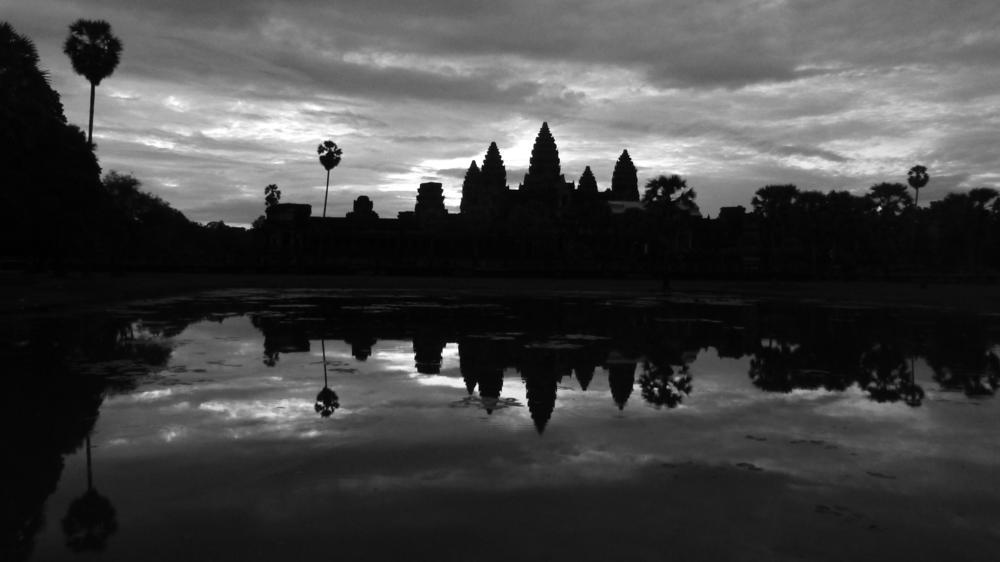 Angkor Wat - Impression Sonnenaufgang No.1_ P1040700