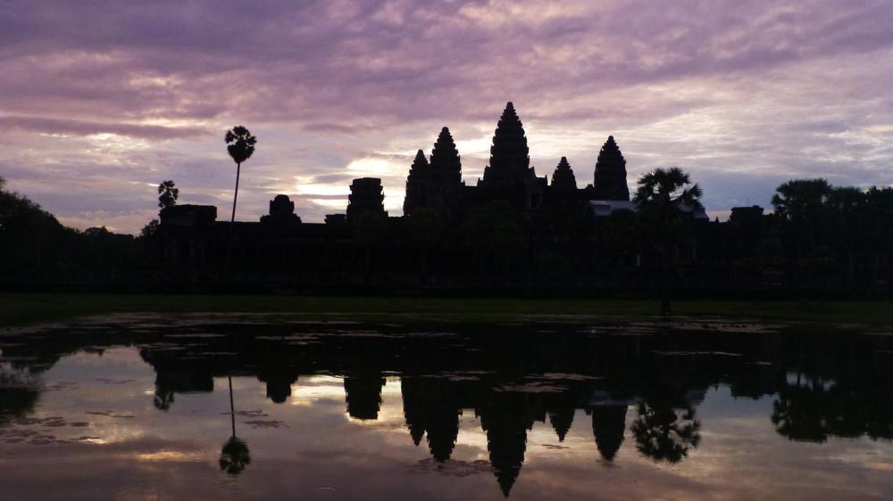 Angkor Wat - Impression Sonnenaufgang No.2_P1040727