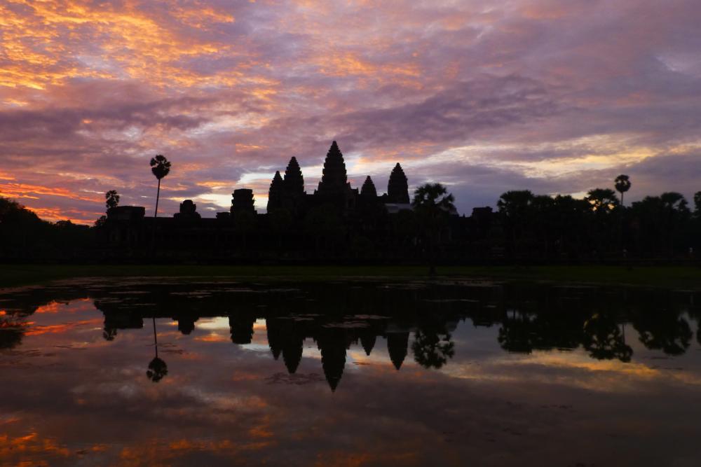 Angkor Wat - Impression Sonnenaufgang No.4_P1040743
