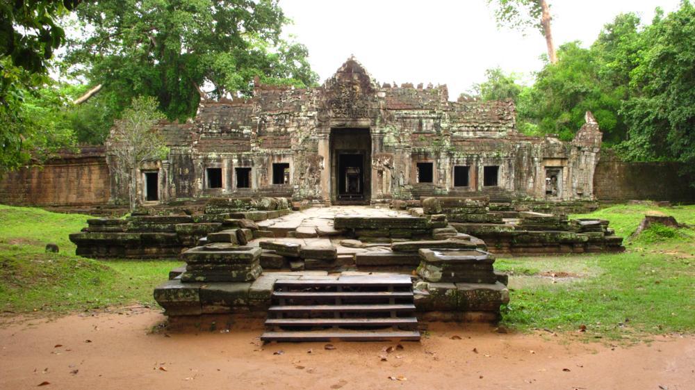 Preah Khan - Klein und überschaubar auf einer Ebene gebaut_IMG_3914