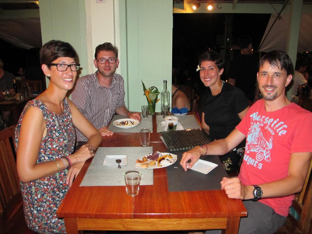 Wir geniessen mit Hendrik und Ariane ein gemeinsames Nachtessen im Tamarind_IMG_5521
