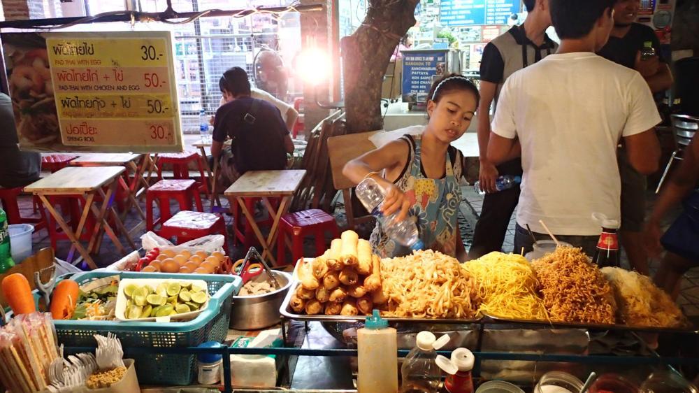 Pad Thai alle lieben es!_P8190159
