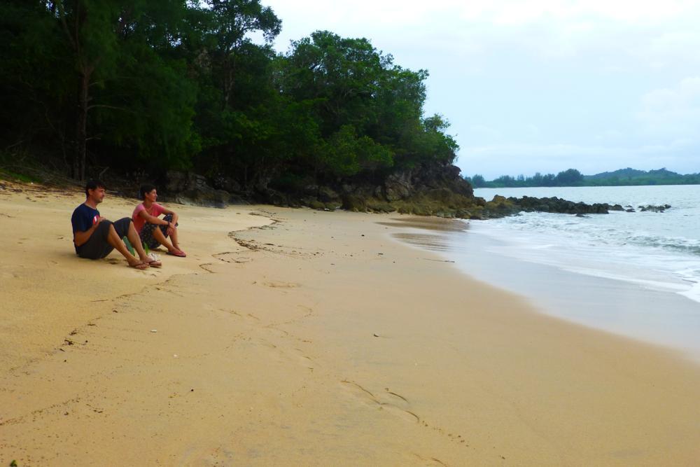 Am beliebtesten Strand der Einsiedlerkrebse eröffnen sie ihr Geschäft..._P1060966
