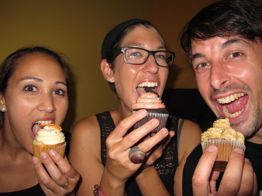 Nach dem Ausgang verdrücken wir noch Cupcakes_IMG_7520