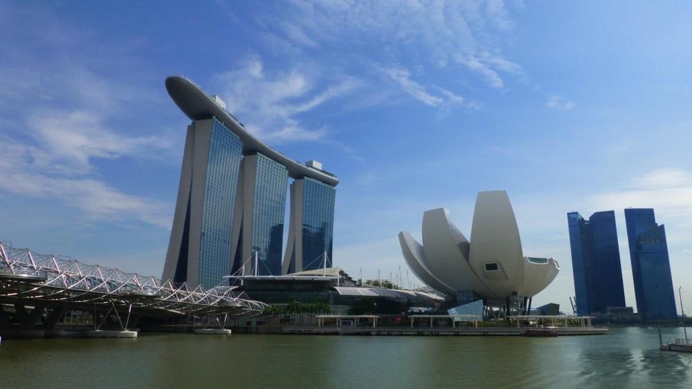 Singapur sling faraway from home - Architektonische meisterwerke ...